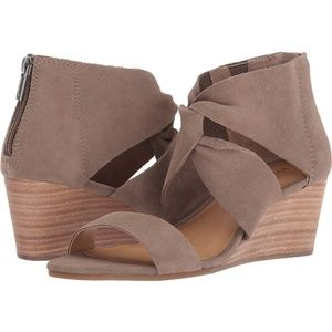 New Lucky Brand Tammanee Heeled Sandal